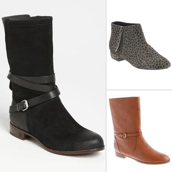 A Chic Pair of Flat Boots