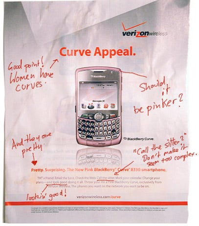 Daily Tech: Is Verizon's New BB Curve Ad Too Sexist?