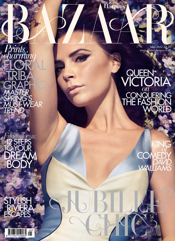 Victoria Beckham covers Harper's Bazaar. Photo courtesy Camilla Akrans and Harper's Bazaar UK