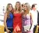 Lauren Conrad, Whitney Port, and Stephanie Pratt wore colorful looks on the 2008 MTV Movie Awards carpet.