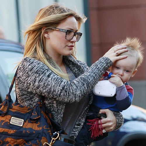 Hilary Duff With Baby Luca in Beverly Hills | Pictures