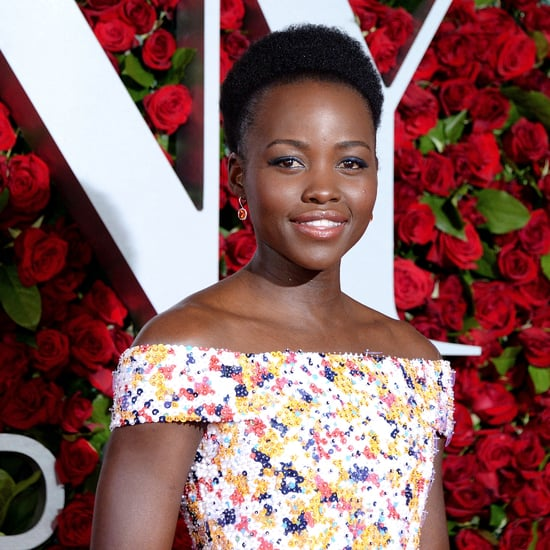 Lupita Nyong'o at the 2016 Tony Awards
