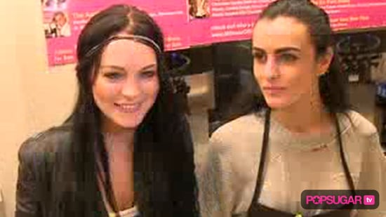 Lindsay Lohan and Ali Lohan at Millions of Milkshakes