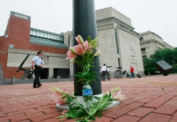 Front Page: Holocaust Museum Closed After Deadly Shooting
