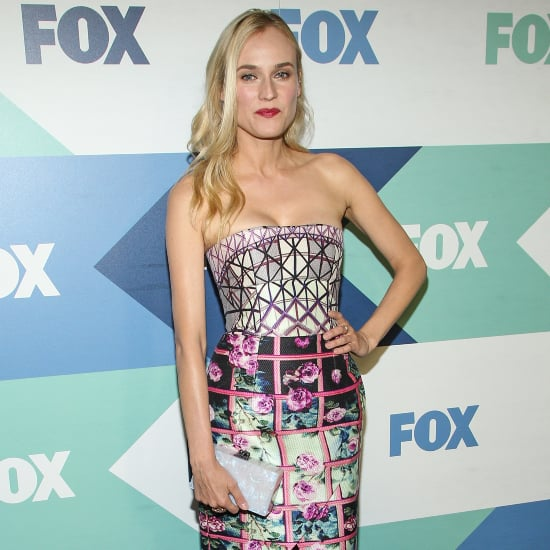 Diane Kruger Dress at Fox Party   Video
