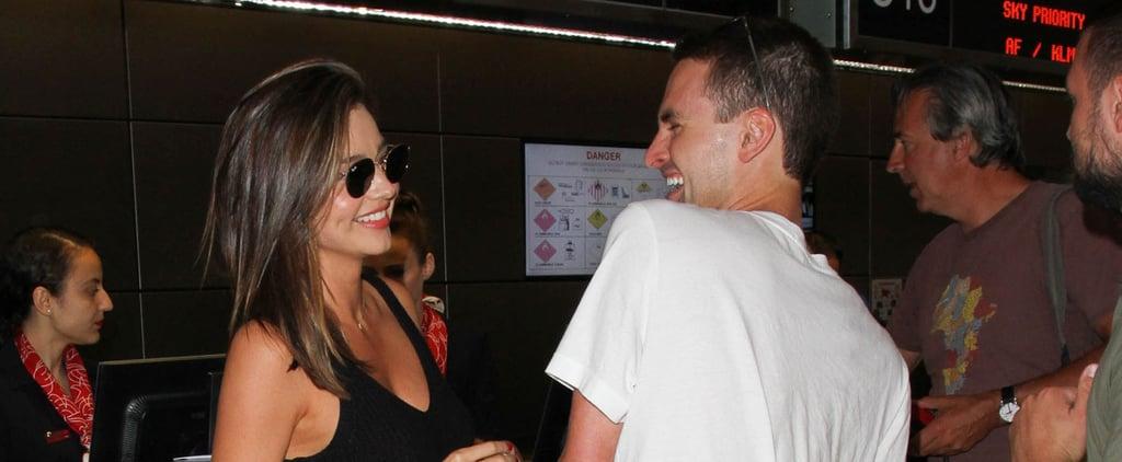 Miranda Kerr Shows the Sweetest PDA With Her Boyfriend, Evan Spiegel