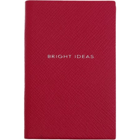 I'm one of the few who still loves to take notes by hand — no computers for me! When heading back to school, why not make sure you're the chicest in class with a Smythson notebook ($60), whose leather binding will only get better as you spill ink on it.  — Robert Khederian, editorial assistant