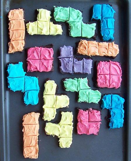 Edible Geek: Scrumptious Tetris Brownies
