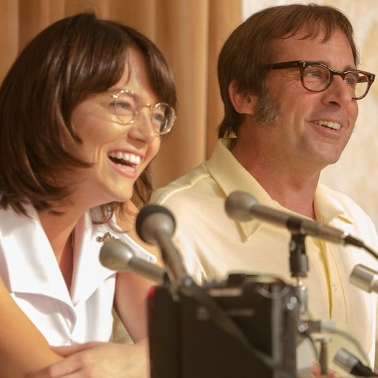 Emma Stone and Steve Carell in Battle of the Sexes Picture
