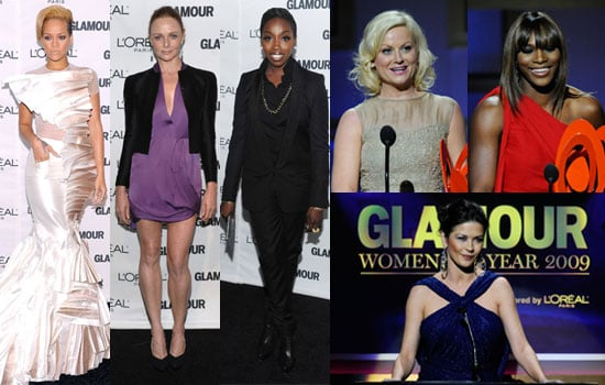 Photos of Rihanna, Stella McCartney, Estelle, Catherine Zeta-Jones, Amy Poehler, Serena Williams at Glamour Women of Year 2009