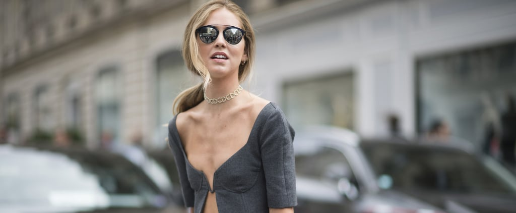 "Chiara Ferragni Just Wore the ""Look-Back-at-It"" Top of the Summer"