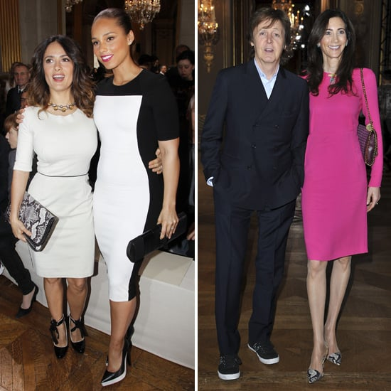 Celebrity Pictures at Stella McCartney's Fall '12 Paris Show