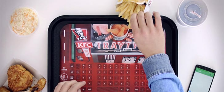 KFC's New Texting Trays Are Either Genius or Gross