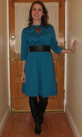 Look of the Day: Winter Blues