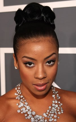 Keyshia Cole at the 2009 Grammys