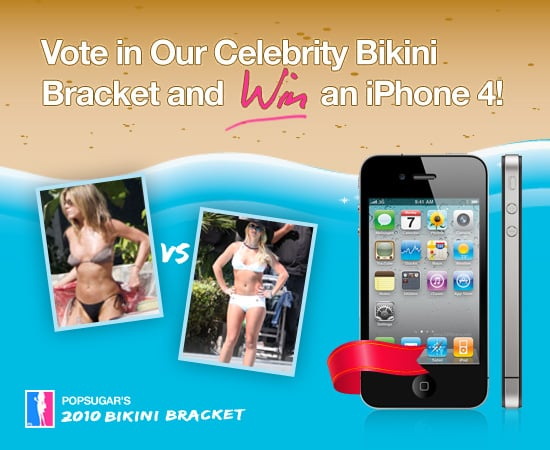 Pictures Of Celebrities In Bikinis And A Chance to Win An iPhone 4