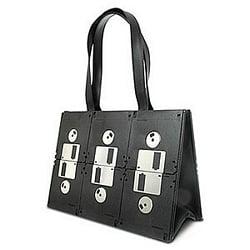 DIY or Buy Handbag Made of Old Floppy Disks