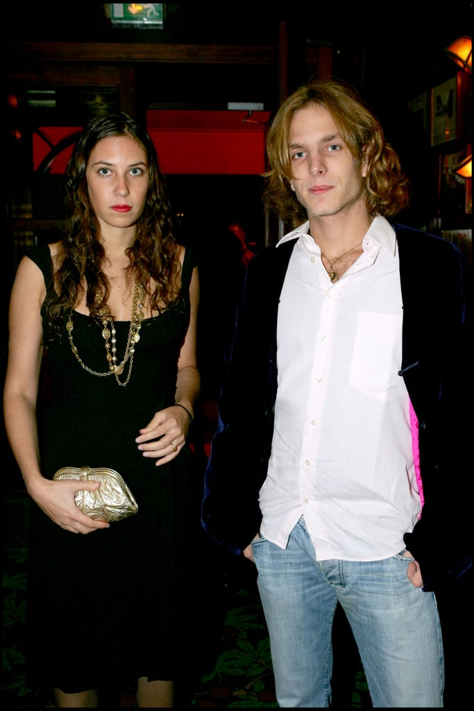 Think, Andrea casiraghi tatiana santo domingo something