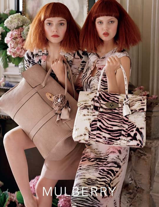 Nimue Smit,Lindsey Wixsonfor Mulberry, by Tim Walker