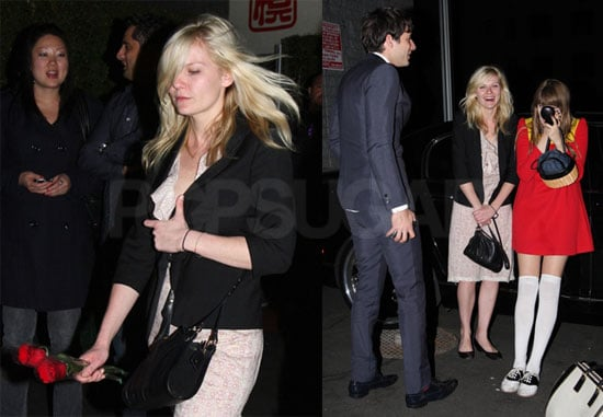 Photos of Kirsten Dunst Out Partying With Mark Ronson in LA