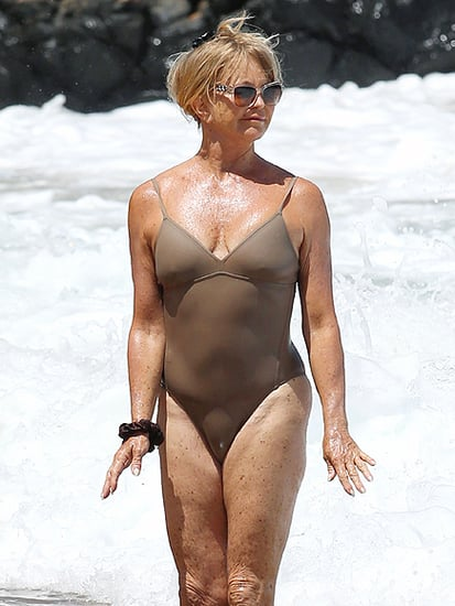 Goldie Hawn Looks Sensational at 70 in Hawaii