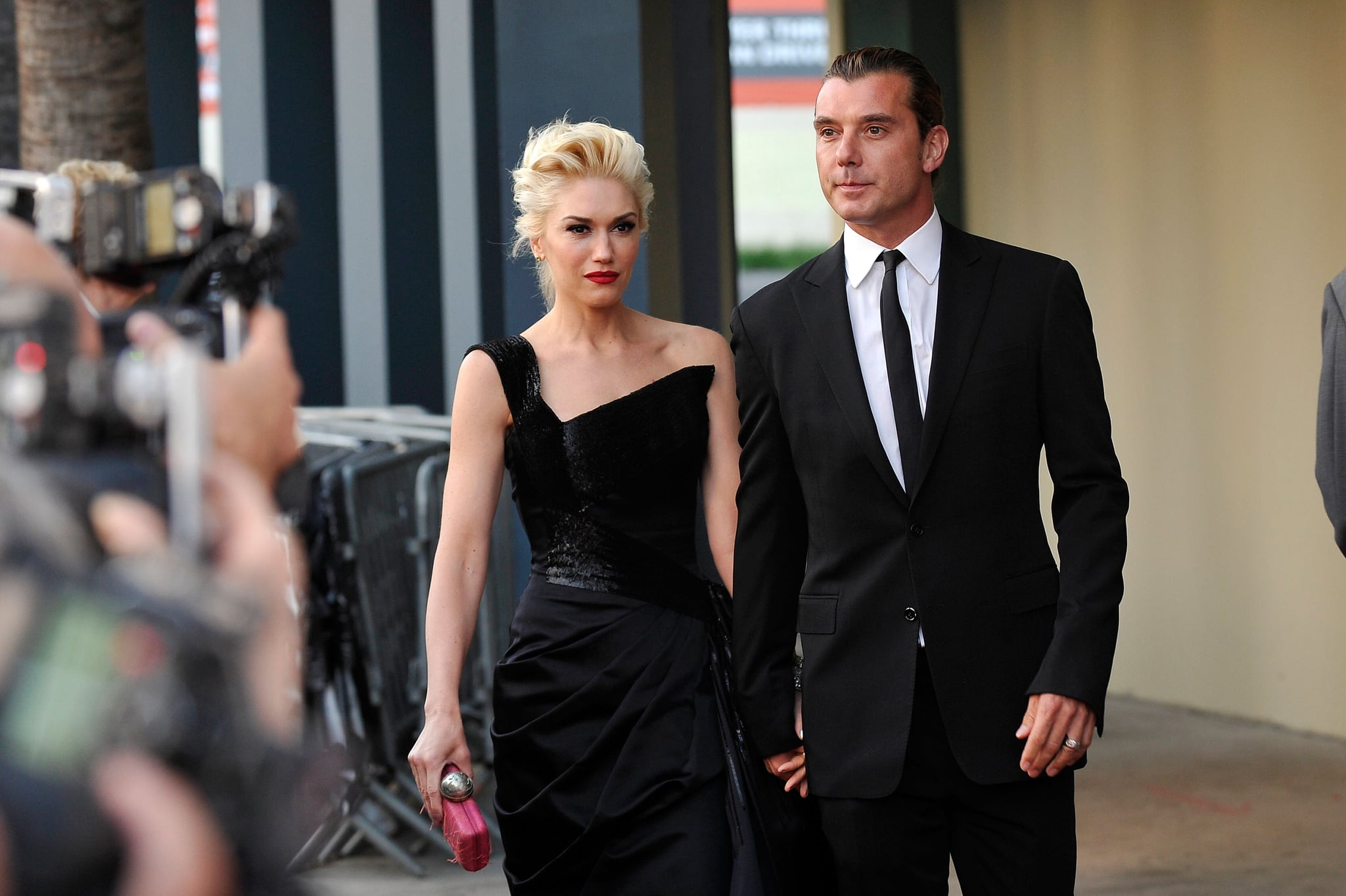 Gavin Rossdale attended the gala with Gwen Stefani.