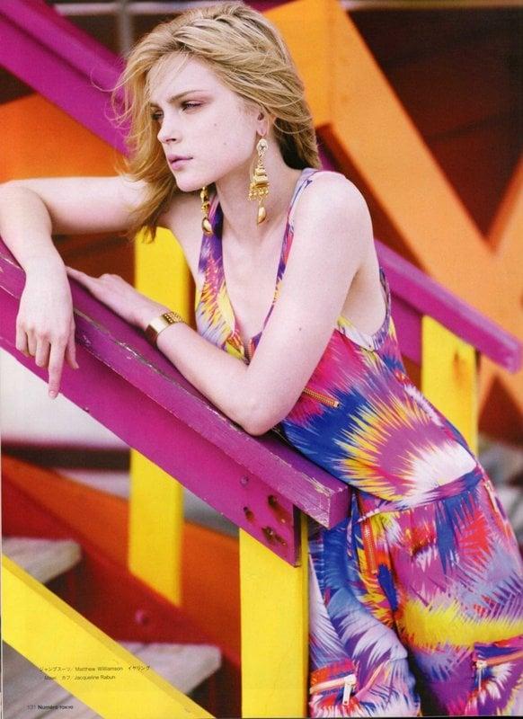 Girls on Film: Jessica Stam, Numéro Tokyo, March '09