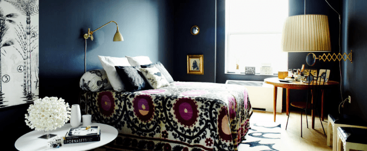 This Moody Blue Hue Brings Luxury to Any Space