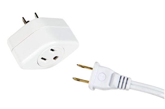 Plug In Oddly-Shaped Plugs Without Blocking the Other Outlets