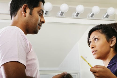 Where Do You Stand? Sharing a Toothbrush With Your Significant Other
