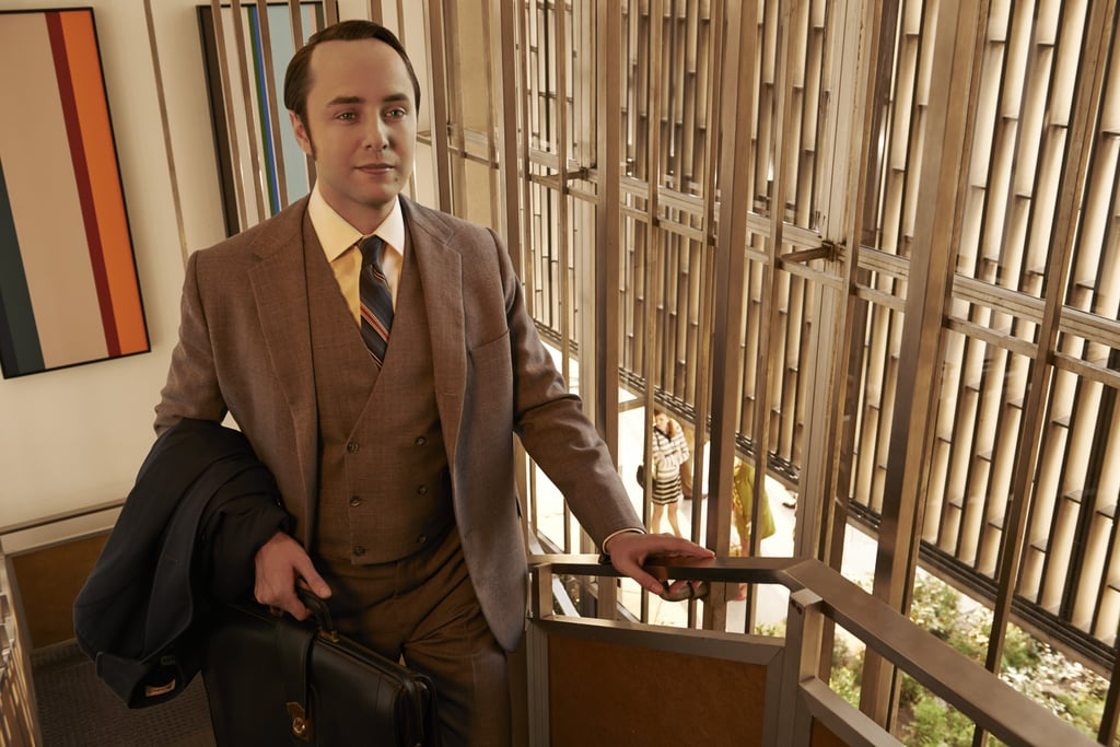 Vincent Kartheiser as Pete Campbell.