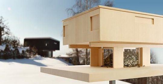 Casa Link:  Styling Bird Feeders