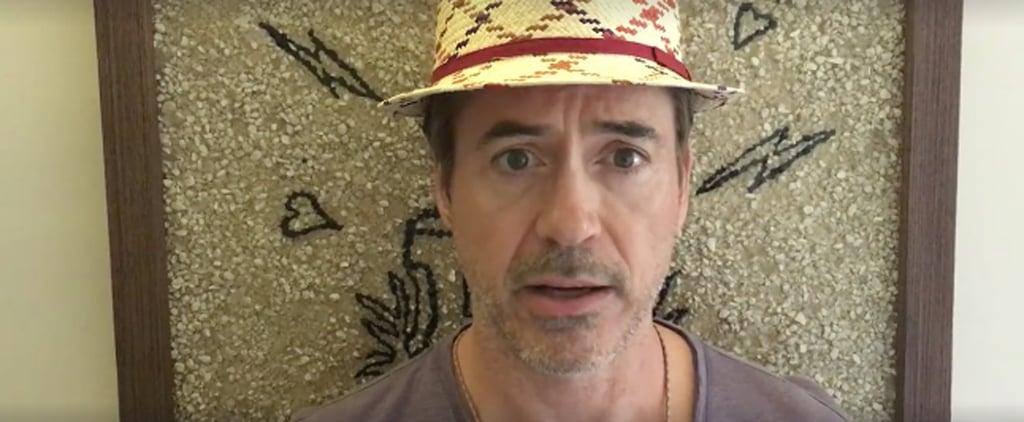 The Epic Way Robert Downey Jr. Made a Sick Little Boy's Wish Come True
