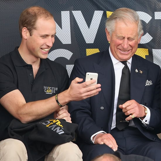 Prince Harry at the Invictus Games 2014