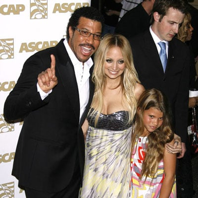 Nicole, Lionel, and Sophia Richie at the ASCAP Awards
