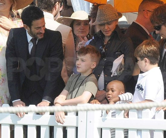 Photo Slide of Madonna, Kate Hudson, Marc Jacobs at Prince Harry's Polo Match in NYC