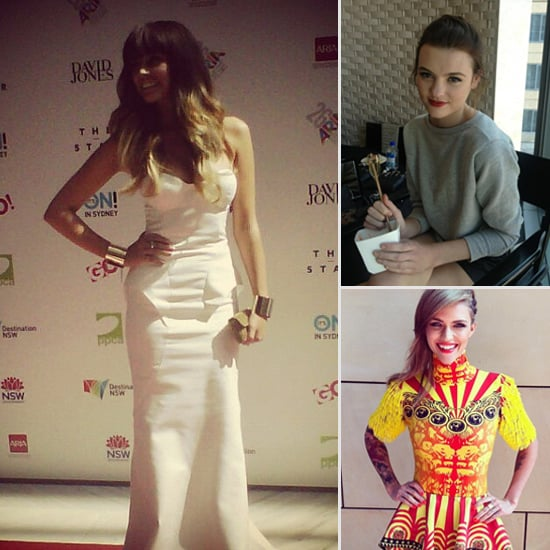 Celebrities Hit The 2012 Aria Awards Red Carpet