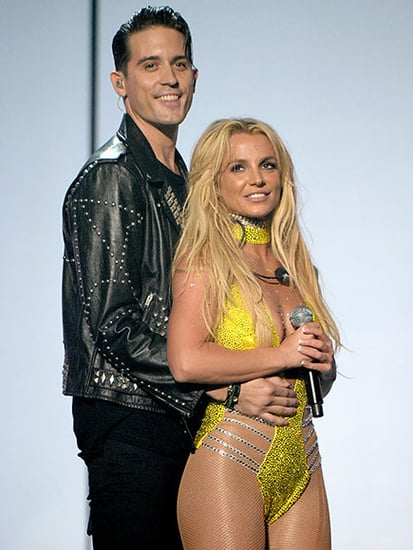 Britney Spears Shuts Down Speculation G-Eazy Tried to Kiss Her at VMAs, Feels 'Blessed' Amid Comeback