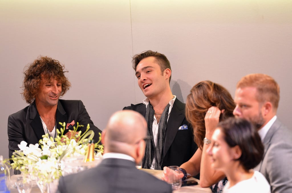 Ed Westwick was in attendance at the Style Awards in NYC.