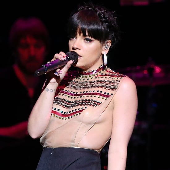 Lily Allen in a See-Through Shirt | Pictures