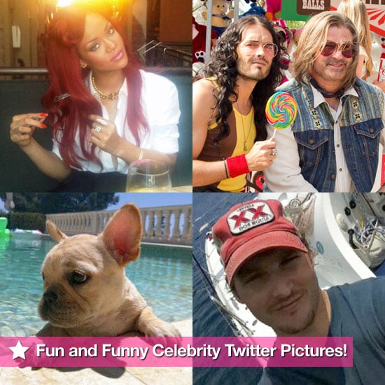 Fun and Funny Celebrity Twitter Pictures