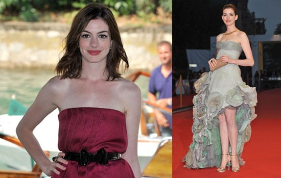 Photos of Anne Hathaway, Who Is Linked to Josh Lucas, at the Venice Film Festival for Rachel Getting Married