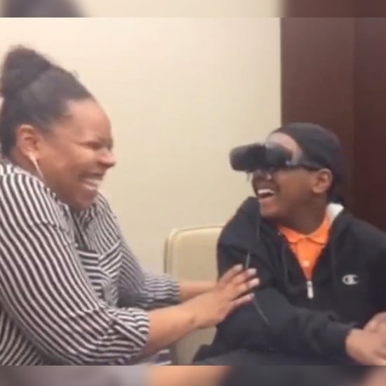 Blind Boy Sees Mom For First Time (Video)