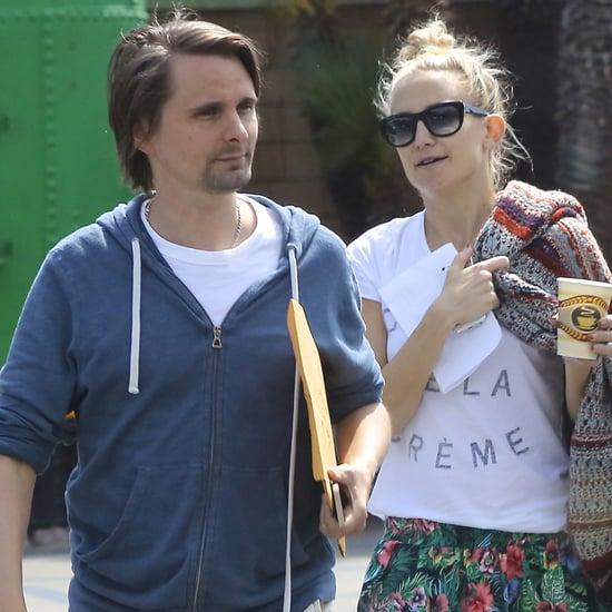 Kate Hudson and Matthew Bellamy Reunited