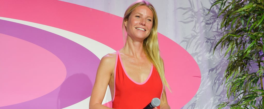 Once Gwyneth Paltrow Turns to the Side, You'll See What's So Hot About Her Dress