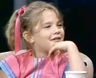 Video of Drew Barrymore on Johnny Carson Without Her Teeth