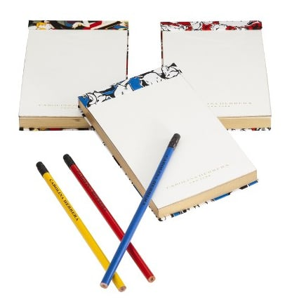 I was immediately drawn to the Carolina Herrera for Target Stationery Set ($20) the moment I saw the colorful covers of each notepad. Who wouldn't love carrying one around, with a matching pencil, of course, to jot down all those little things during the day that inevitably get forgotten? — Robert Khederian, fashion editorial assistant