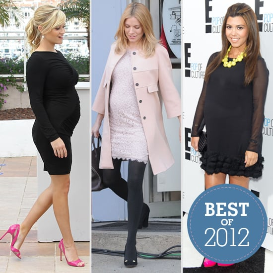 Best of 2012: The 35 Most Fashionable Celebrity Maternity Moments