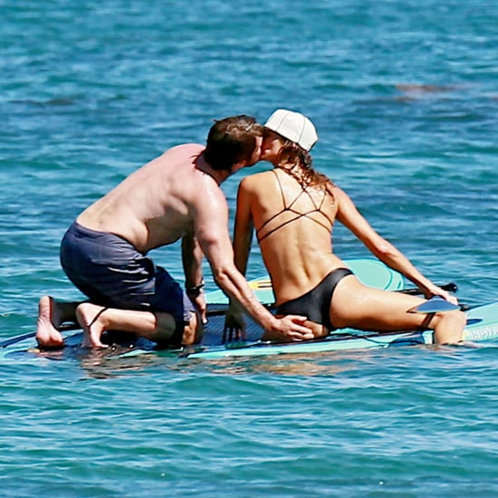 Gerard Butler Shirtless PDA With Girlfriend | Pictures