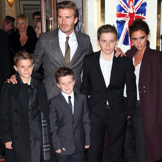 Best Beckham Family Pictures